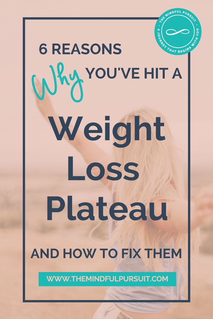 6 Reasons Why You've Hit A Weight Loss Plateau and How to Fix Them