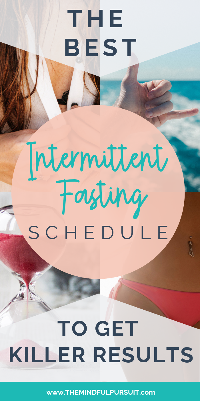 Have you been wondering what the best intermittent fasting schedule is for you, especially when it comes to weight loss? This will help!